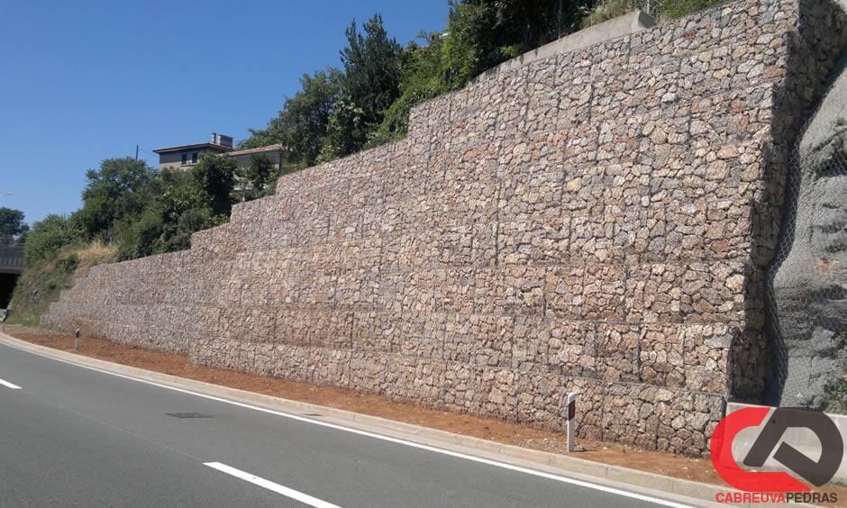gabiao 01 - Muro de Gabião - Material e Mão de Obra Especializada