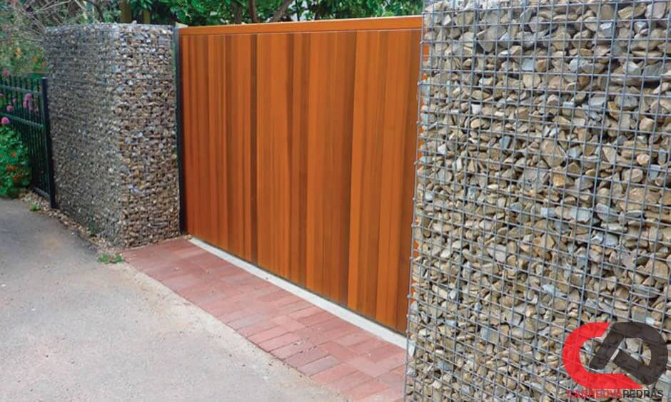 gabiao 02 - Muro de Gabião - Material e Mão de Obra Especializada