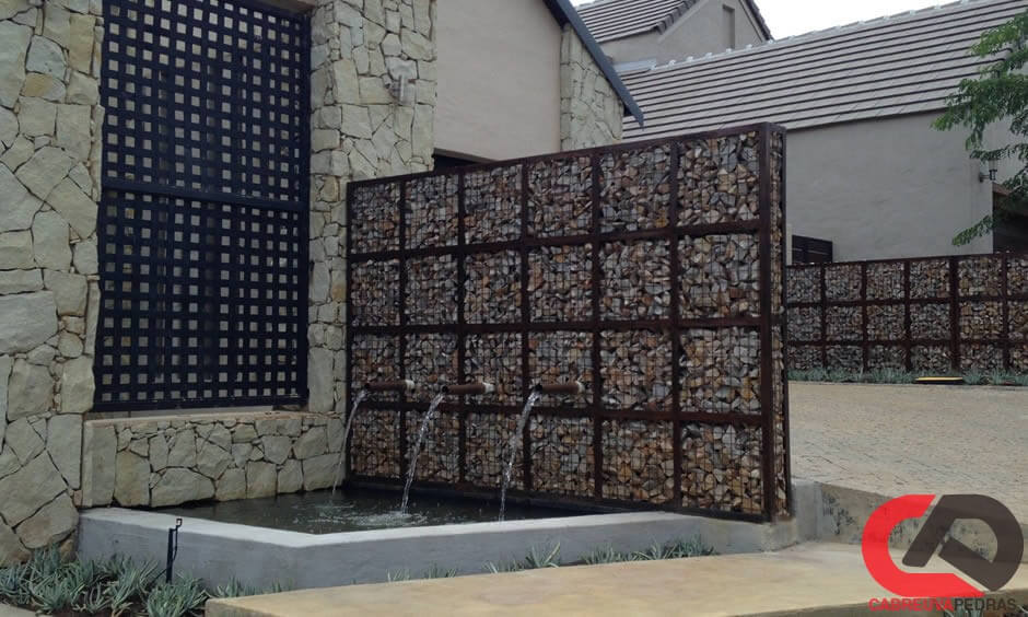 gabiao 03 - Muro de Gabião - Material e Mão de Obra Especializada