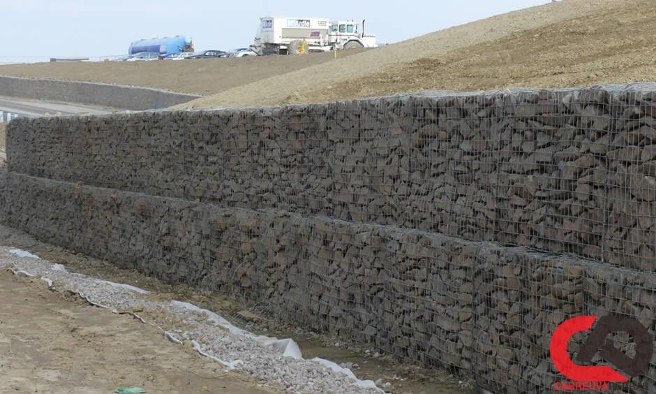 gabiao 16 - Muro de Gabião - Material e Mão de Obra Especializada