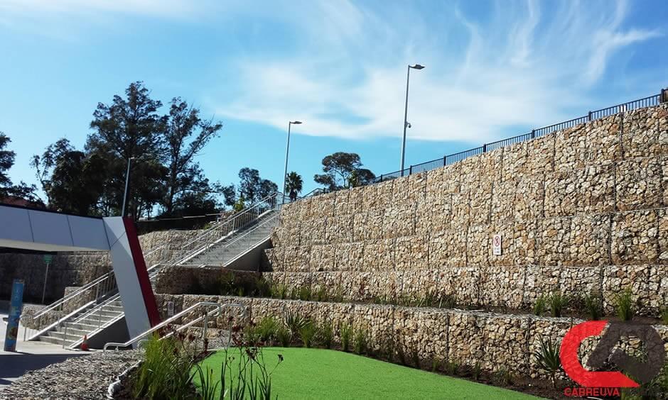 gabiao 18 - Muro de Gabião - Material e Mão de Obra Especializada