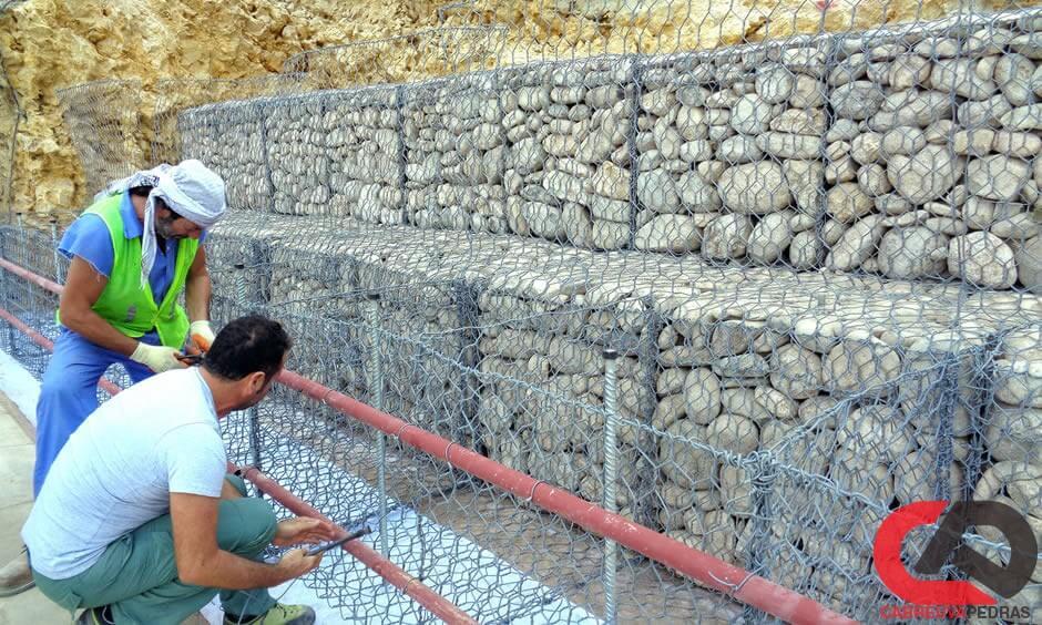 gabiao 20 - Muro de Gabião - Material e Mão de Obra Especializada