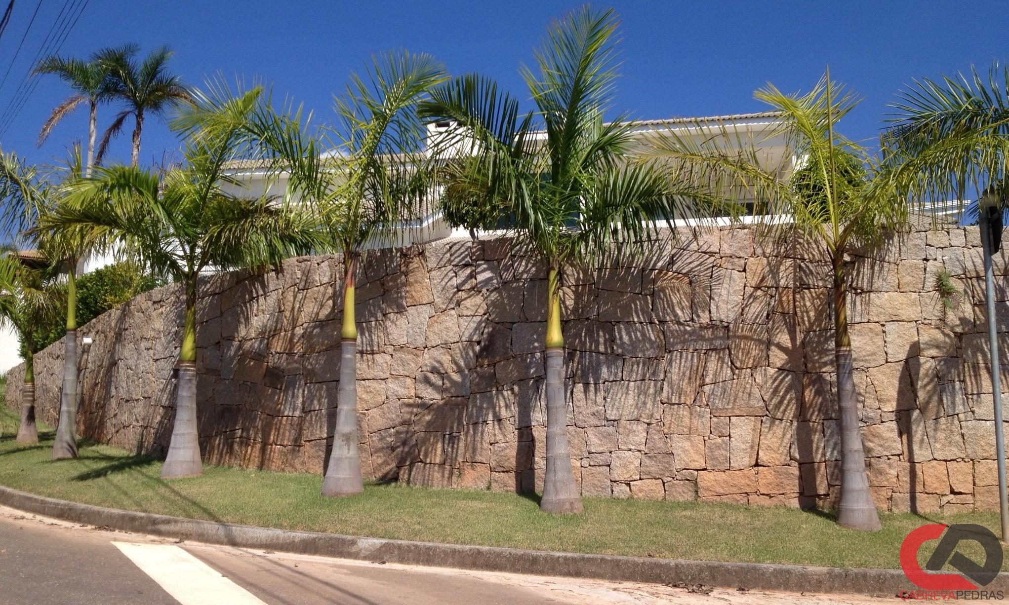 muro de pedra 01 - Muro de Pedra - Material e Mão de Obra Especializada