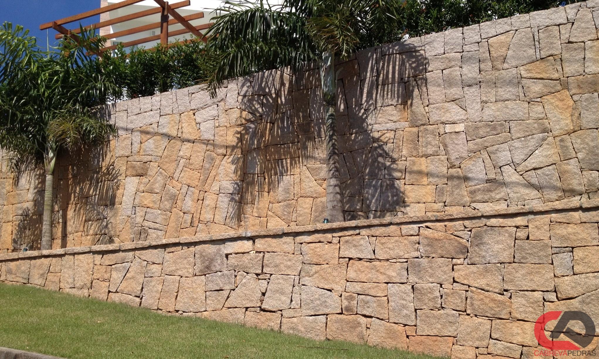 muro de pedra 03 - Muro de Pedra - Material e Mão de Obra Especializada